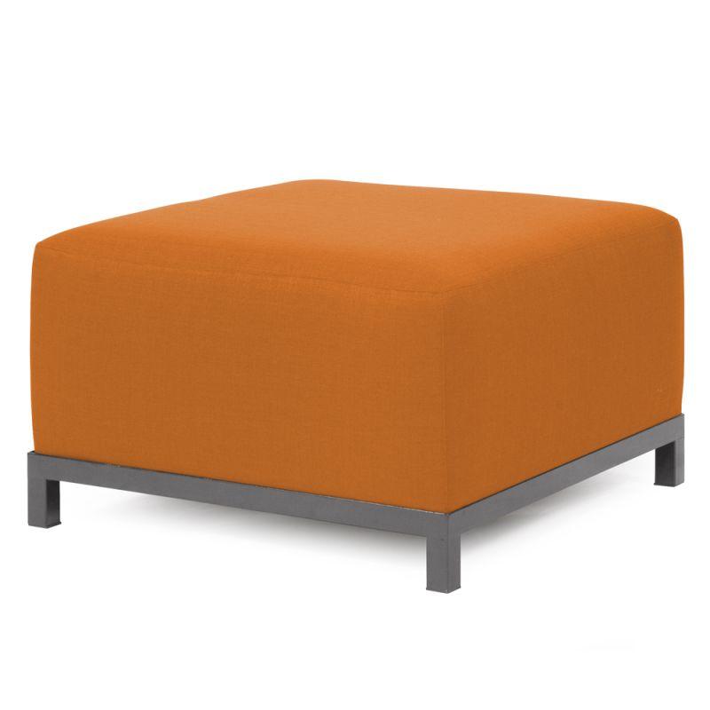 Howard Elliott 902-229 Sterling Axis 30 X 17 Ottoman Slipcover Orange