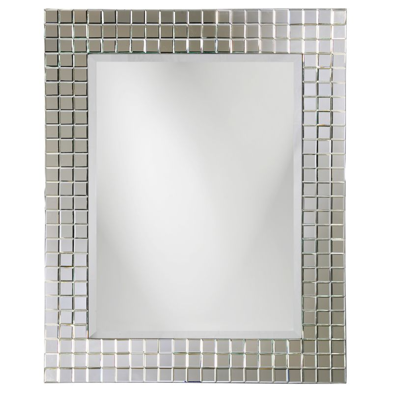 "Howard Elliott 9073 Michael 52"" x 42"" Mosaic Mirror Mosaic Home Decor"