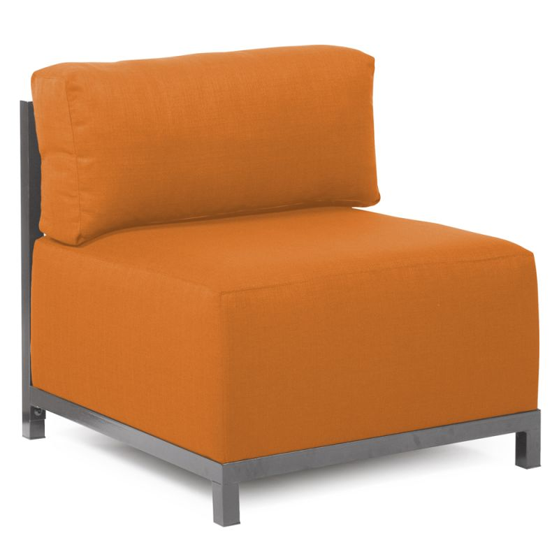 Howard Elliott 920-229 Sterling Axis 30 X 17 Chair Slipcover Orange