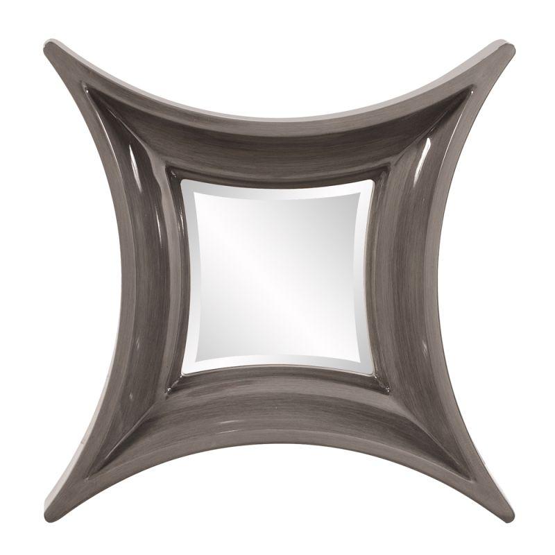 "Howard Elliott 92104 Wilton 24"" x 24"" Square Mirror Grey Home Decor Sale $210.00 ITEM#: 2704861 MODEL# :92104 UPC#: 848635058641 :"
