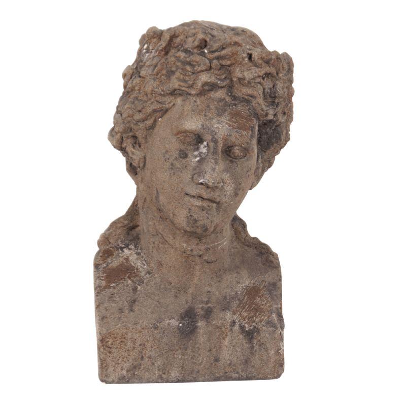 "Howard Elliott Ancient Roman Old World Male Ceramic Bust II 11"" Tall"