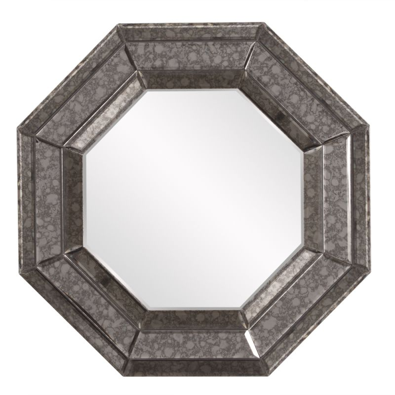 "Howard Elliott Jansen Octagonal Mirror 24"" x 24"" Octagonal Mirror from"