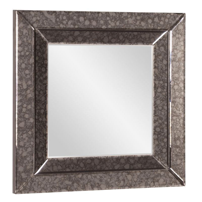 "Howard Elliott Jansen Square Mirror 24"" x 24"" Square Mirror from the"