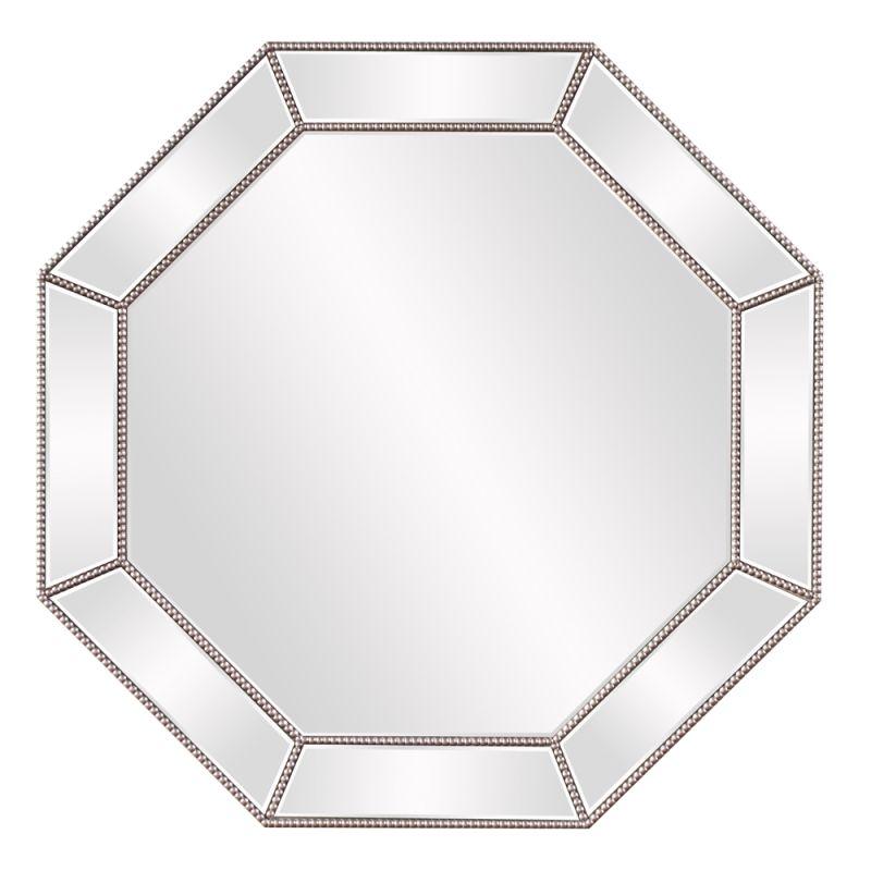 "Howard Elliott Harlow Octagonal Mirror 39.5"" Diameter Circular Mirror"