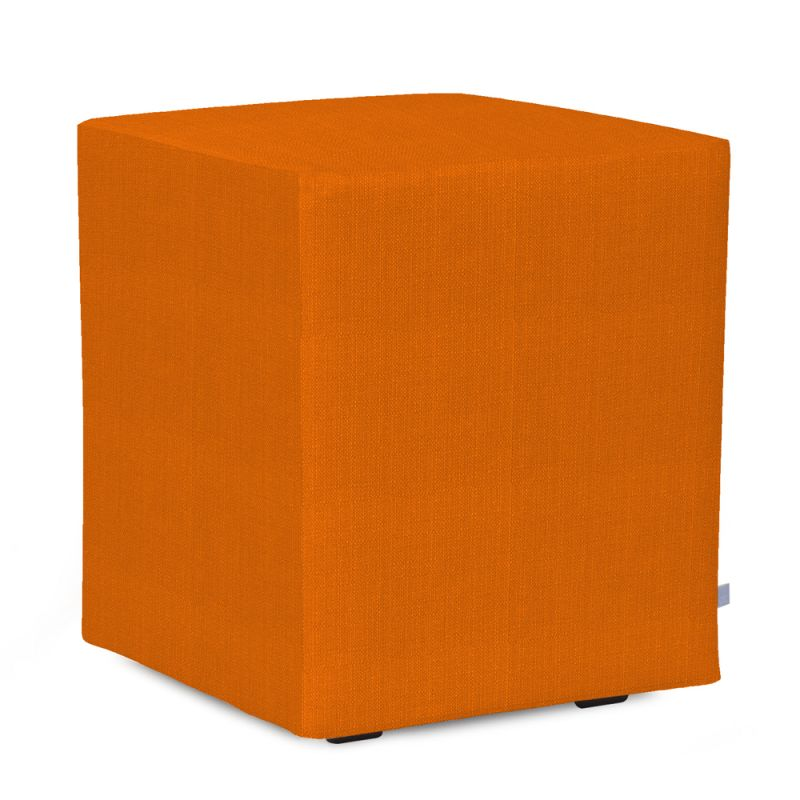 Howard Elliott C128-229 Sterling 18 X 18 Universal Cube Cover Orange