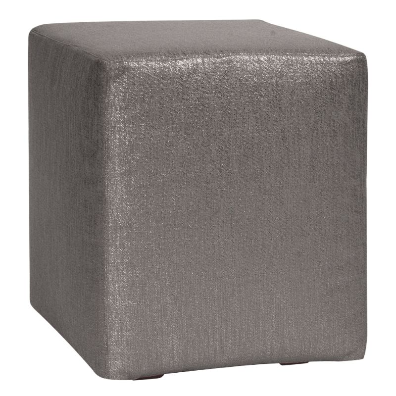 Howard Elliott C128-236 Glam 18 X 18 Universal Cube Cover Zinc
