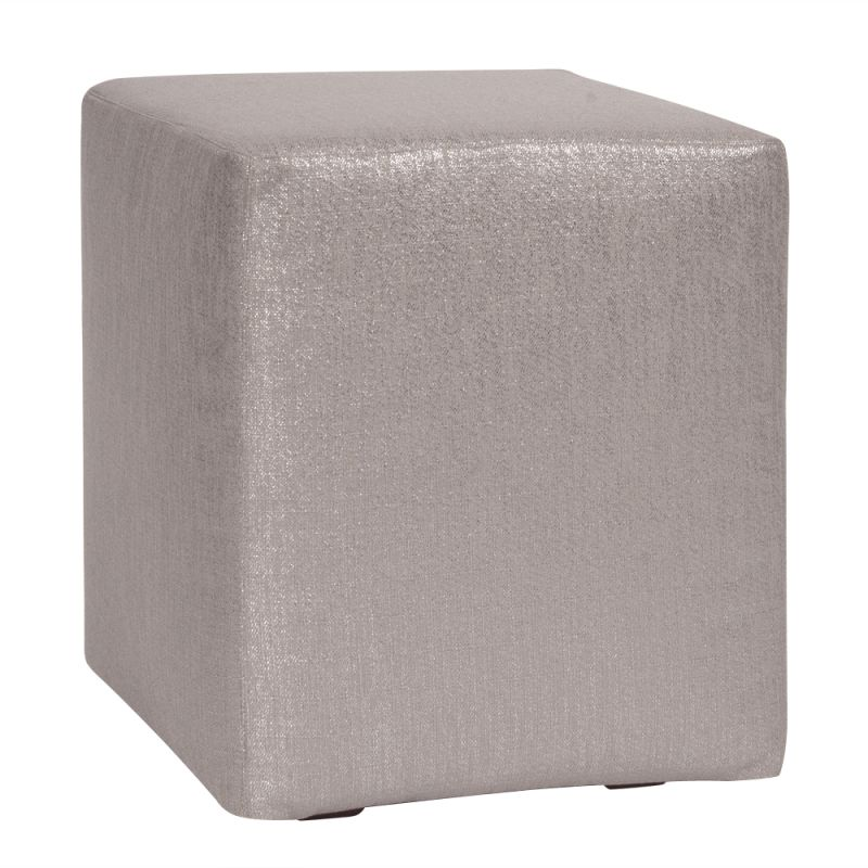 Howard Elliott C128-237 Glam 18 X 18 Universal Cube Cover Pewter