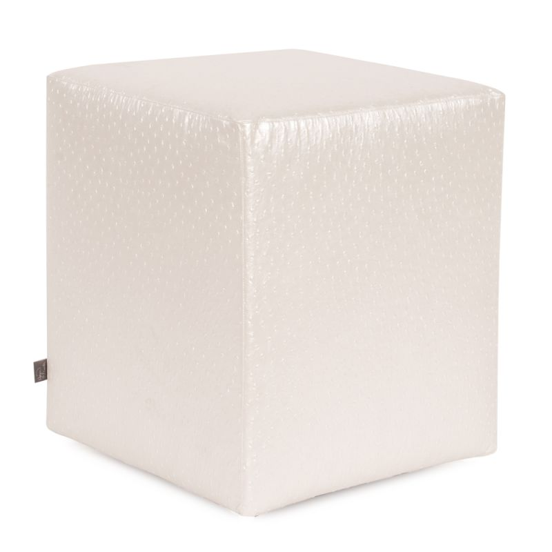 Howard Elliott C128-262 Ostrich 18 X 18 Universal Cube Cover Pearl