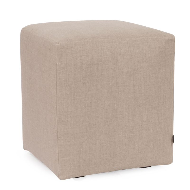 Howard Elliott C128-610 Prairie 18 X 18 Universal Cube Cover Natural