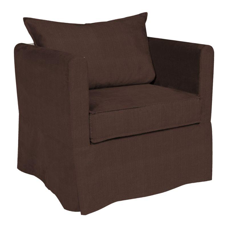 Howard Elliott C138-202 Sterling Alexandria 31 X 28 Chair Slipcover