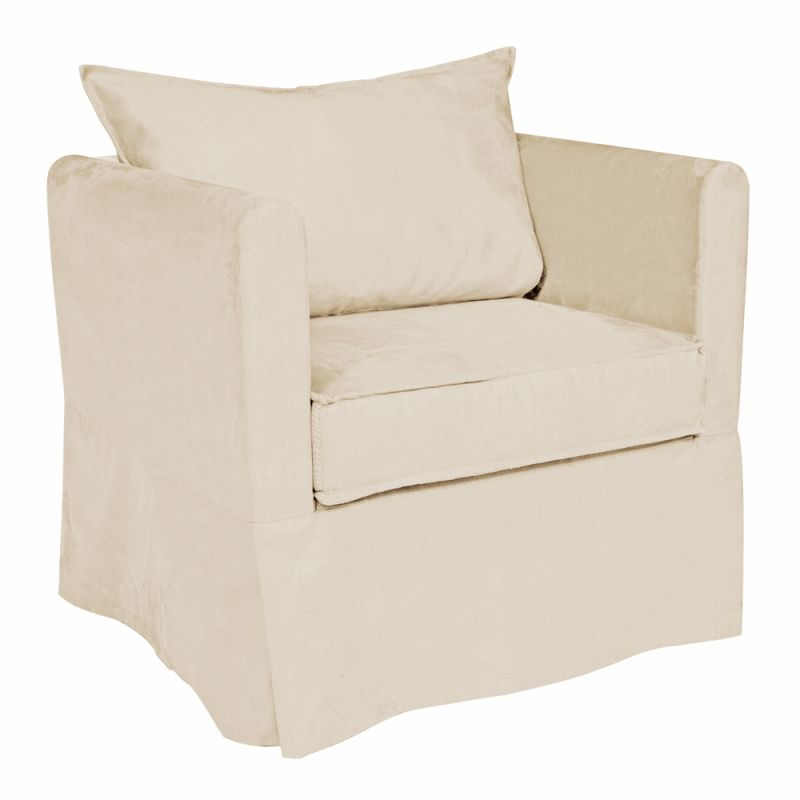 Howard Elliott C138-203 Sterling Alexandria 31 X 28 Chair Slipcover