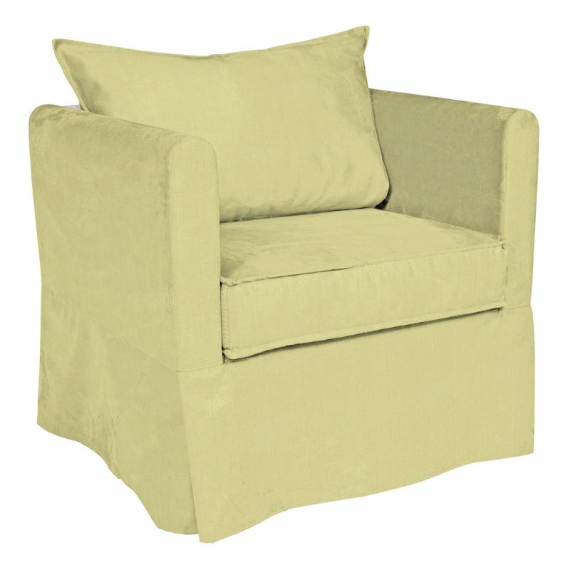 Howard Elliott C138-204 Sterling Alexandria 31 X 28 Chair Slipcover