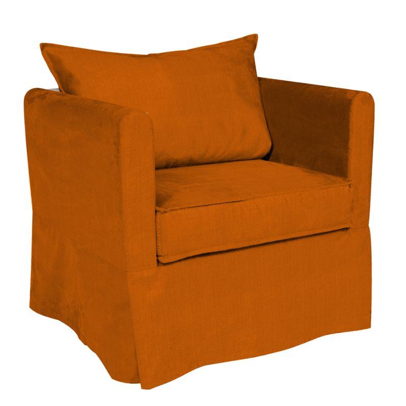 Howard Elliott C138-229 Sterling Alexandria 31 X 28 Chair Slipcover