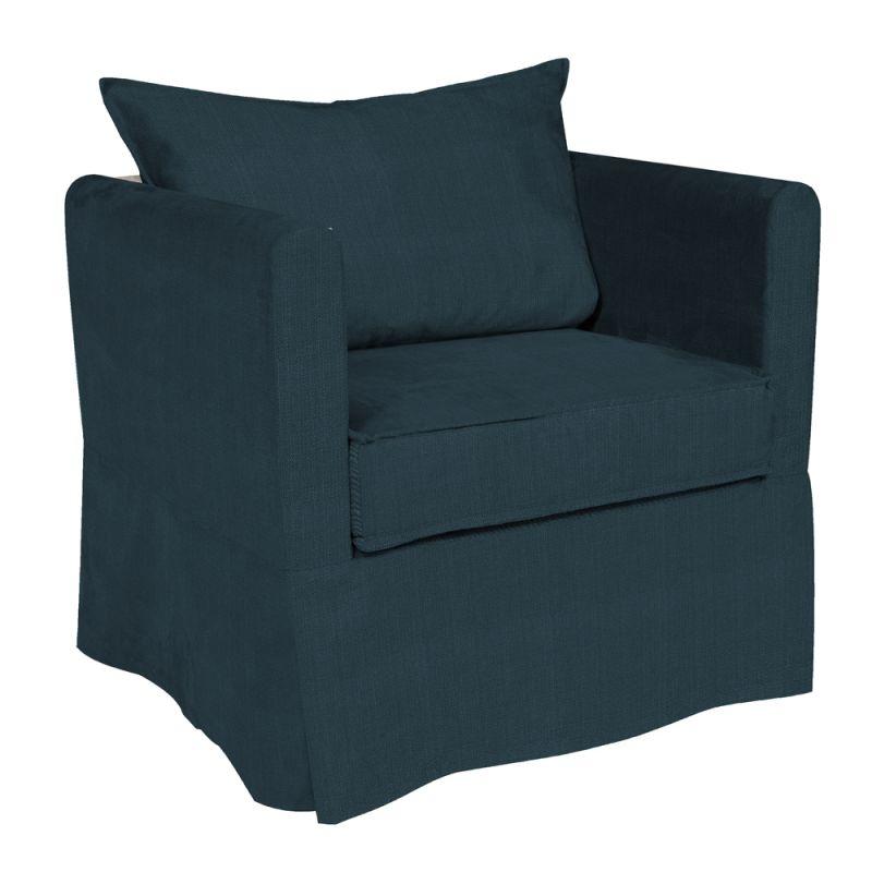 Howard Elliott C138-230 Sterling Alexandria 31 X 28 Chair Slipcover