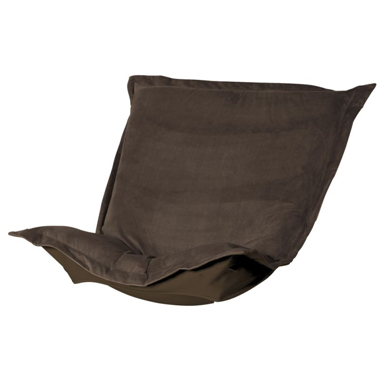 Howard Elliott C300-220 Bella 40 X 49 Puff Chair Slipcover Brown