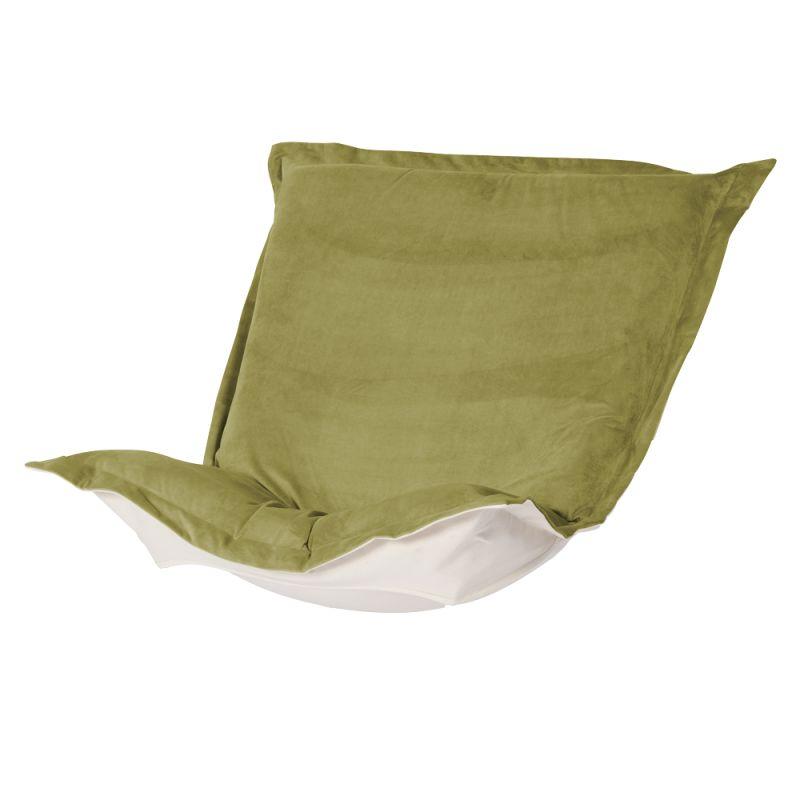 Howard Elliott C300-221 Bella 40 X 49 Puff Chair Slipcover Moss