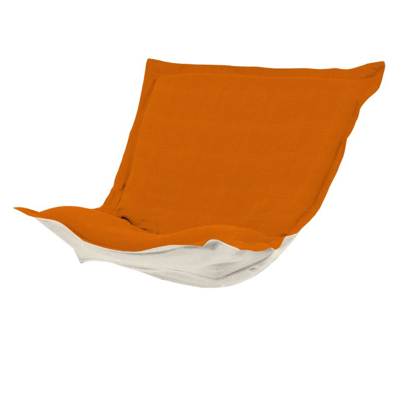 Howard Elliott C300-229 Sterling 40 X 49 Puff Chair Slipcover Orange