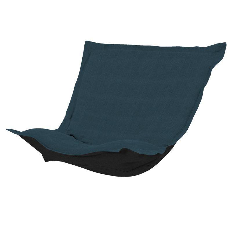 Howard Elliott C300-230 Sterling 40 X 49 Puff Chair Slipcover Indigo