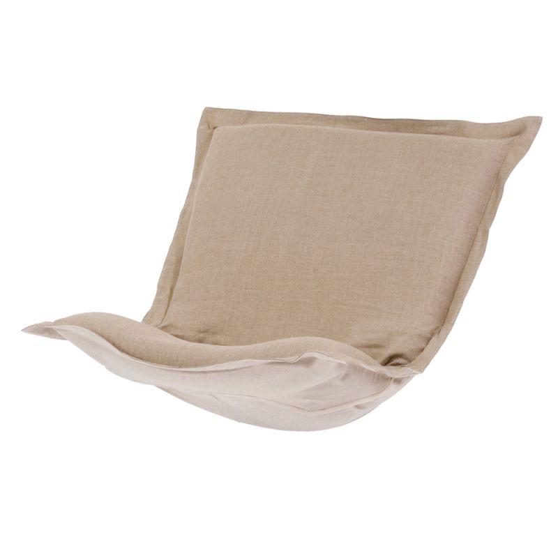 Howard Elliott C300-610 Prairie 40 X 49 Puff Chair Slipcover Natural