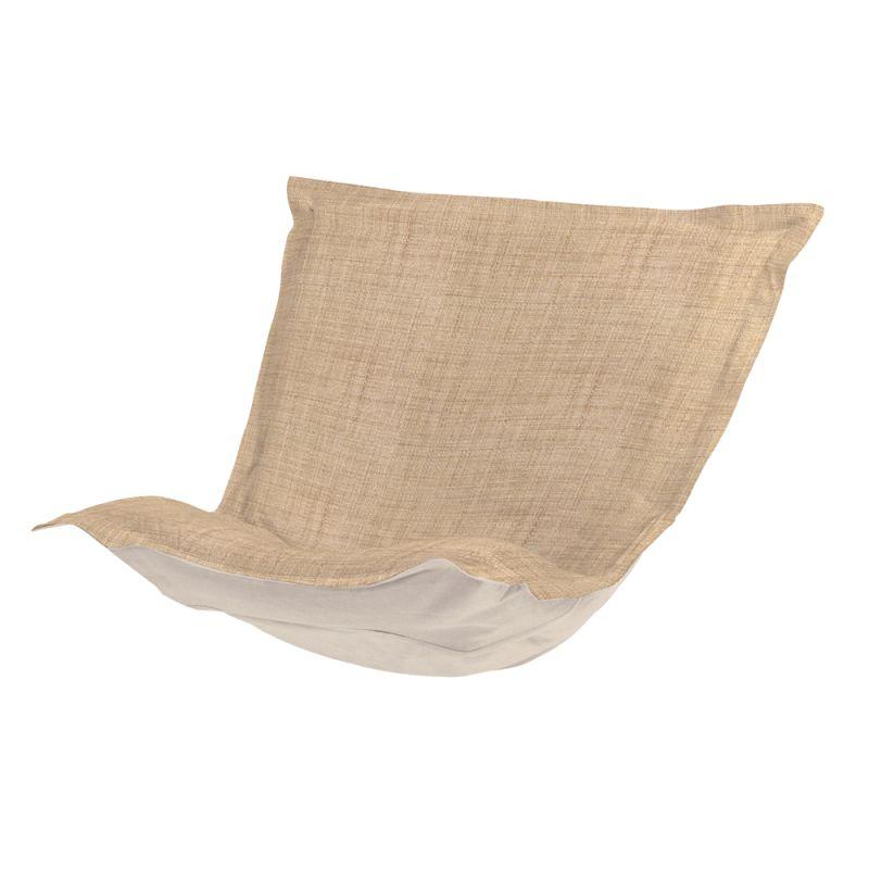 Howard Elliott C300-888 Coco 40 X 49 Puff Chair Slipcover Brown