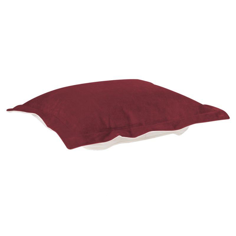 Howard Elliott C310-267 Bella 24 X 24 Puff Ottoman Slipcover Merlot