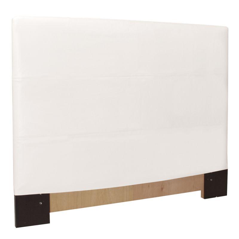 Howard Elliott Avanti White Slipcovered Headboard White 100%