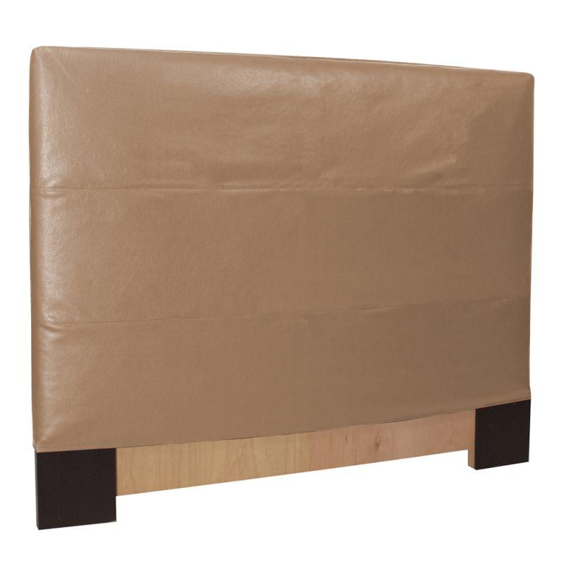 Howard Elliott Avanti Bronze Slipcovered Headboard Bronze 100%