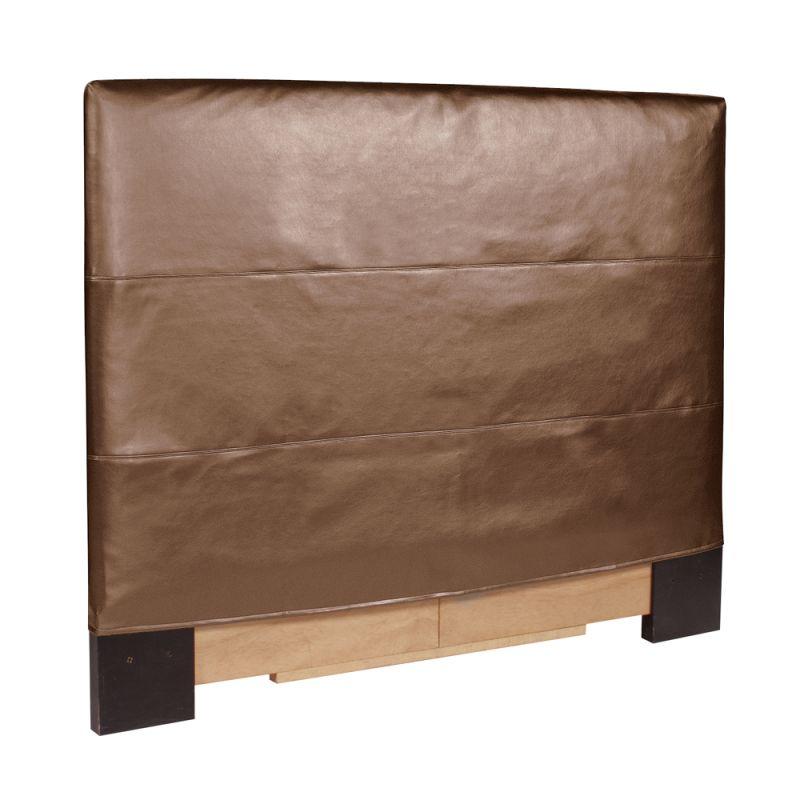 Howard Elliott Shimmer Bronze Headboard Bronze 100% Polyurethane