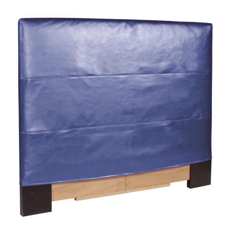 Howard Elliott Shimmer Sapphire Slipcovered Headboard Sapphire 100%