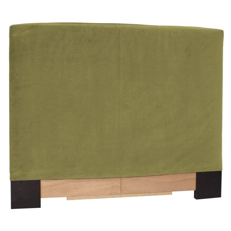 Howard Elliott Bella Moss Slipcovered Headboard Moss 100% Polyester