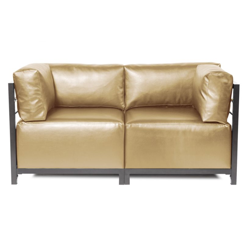 Howard Elliott Shimmer Axis 2 Piece Sectional with Titanium Frame 65""