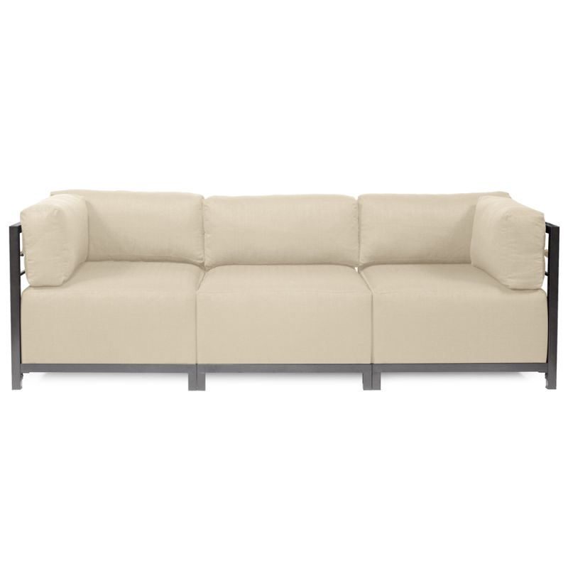 Howard Elliott Sterling 3 Piece Sectional with Titanium Frame 95.5""