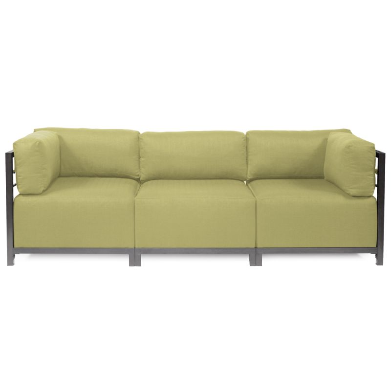 """Howard Elliott Sterling 3 Piece Sectional with Titanium Frame 95.5"""""""