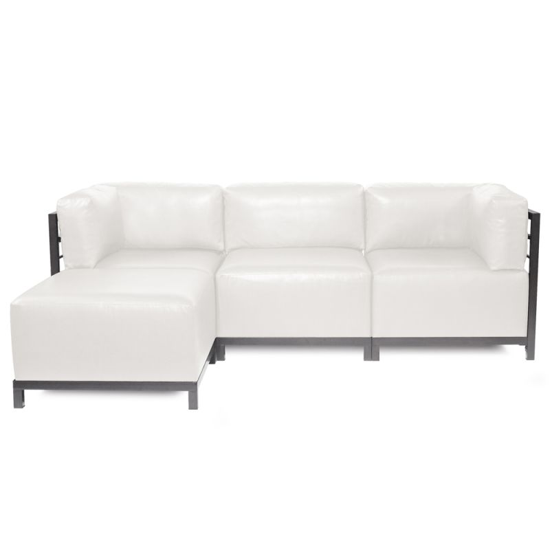 Howard Elliott Avanti Axis 4 Piece Sectional with Titanium Frame 95.5""