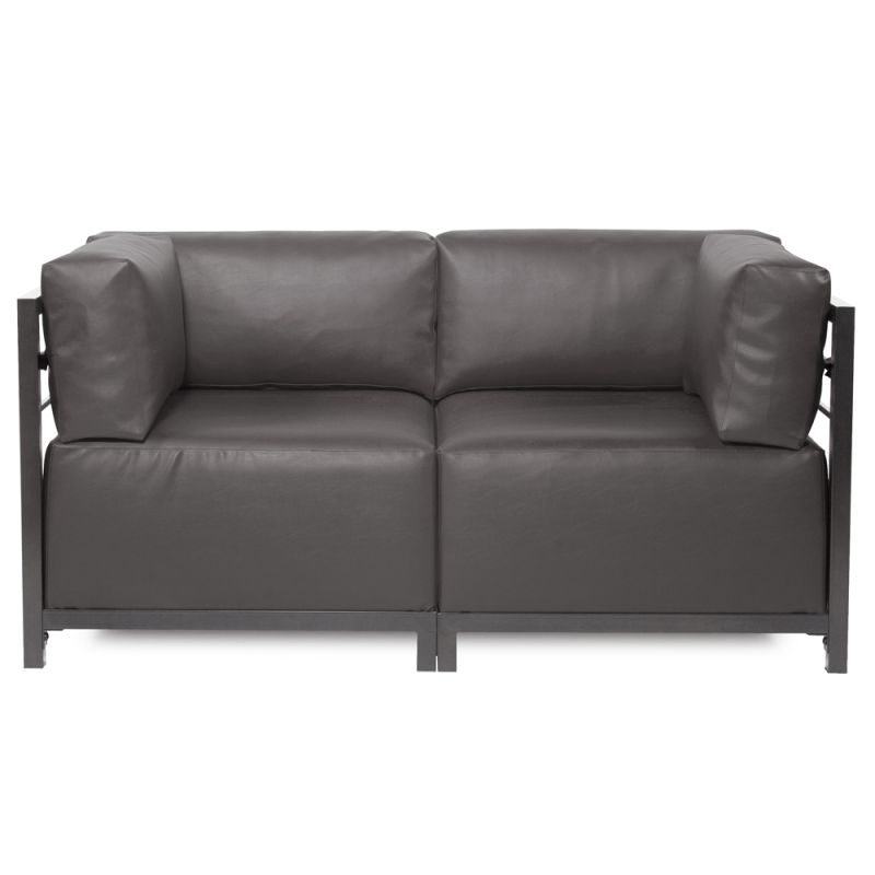"Howard Elliott Atlantis 2 Piece Sectional with Titanium Frame 65"" Wide"