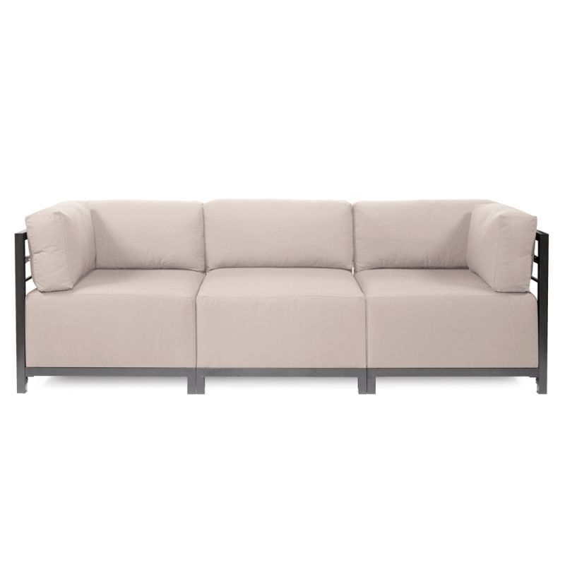 Howard Elliott Seascape 3 Piece Sectional with Titanium Frame 95.5""