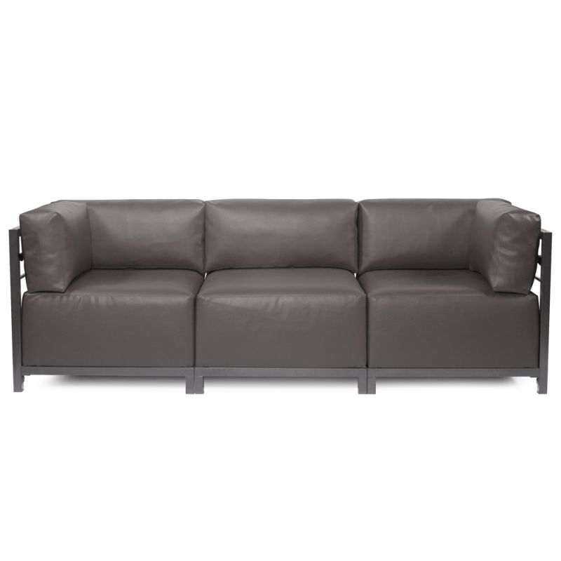 Howard Elliott Atlantis 3 Piece Sectional with Titanium Frame 95.5""