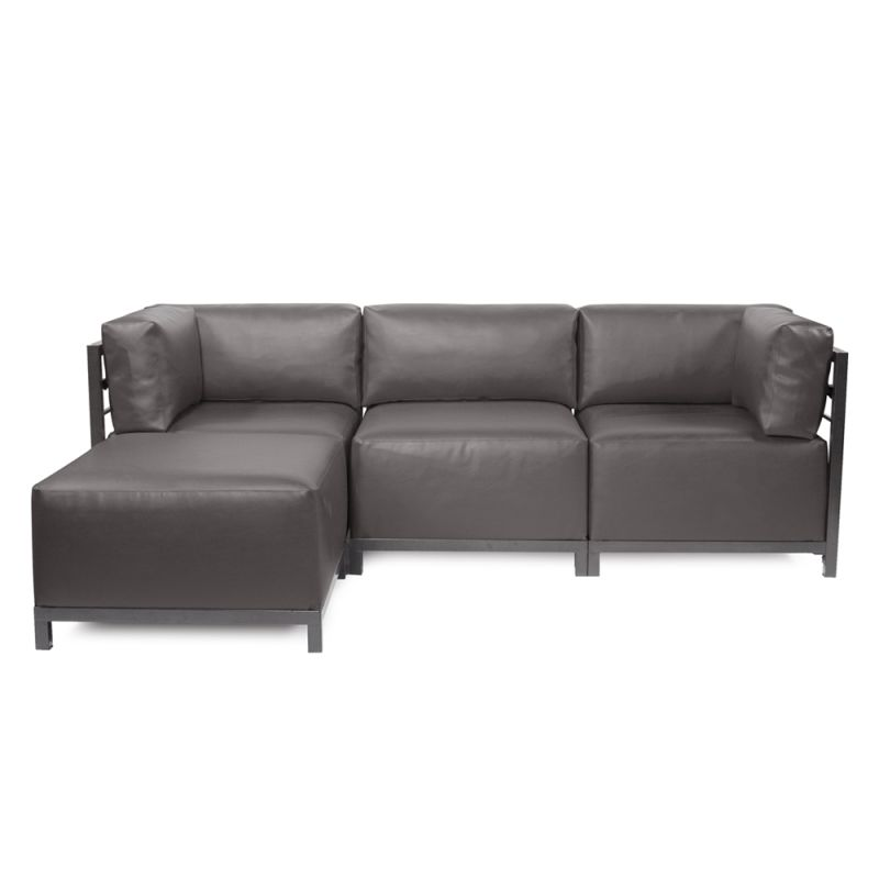 Howard Elliott Atlantis 4 Piece Sectional with Titanium Frame 95.5""