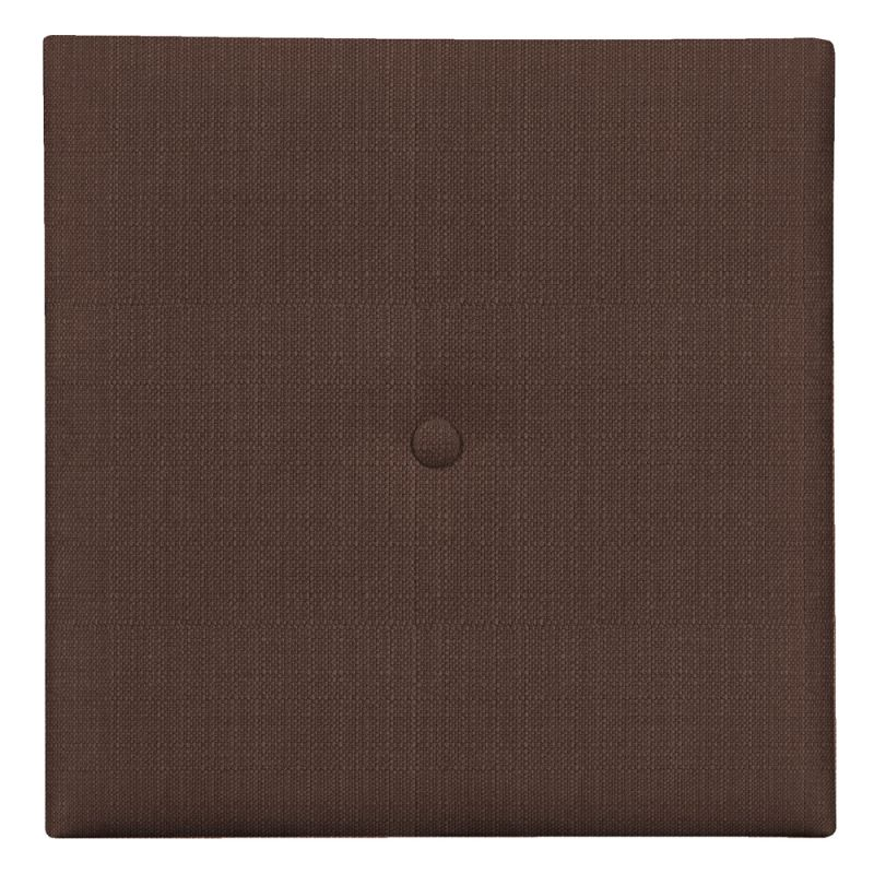 "Howard Elliott Sterling Wall Pixel I with Button 16"" x 16"" Polyester"