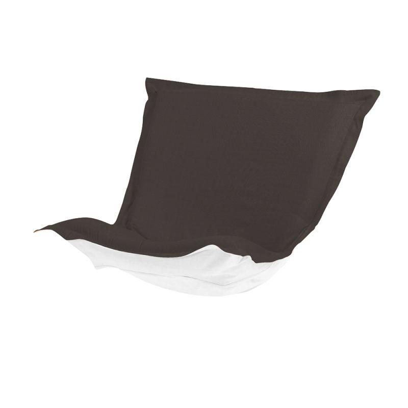 Howard Elliott Q300-460P Seascape 40 X 49 Puff Chair Cushion Charcoal
