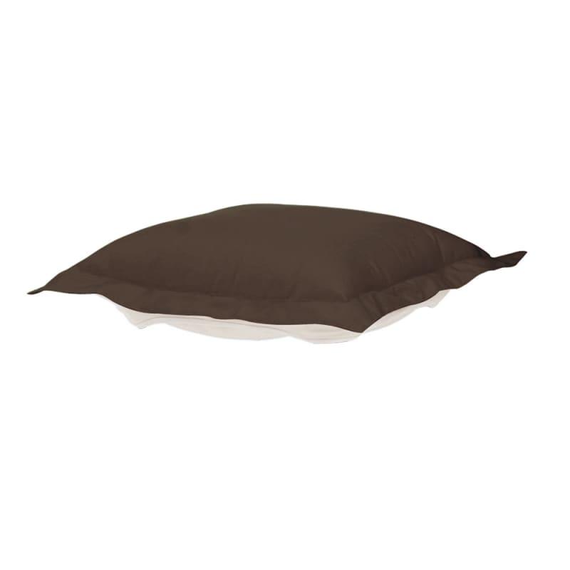 Howard Elliott Q310-462P Seascape 24 X 24 Puff Ottoman Cushion Brown