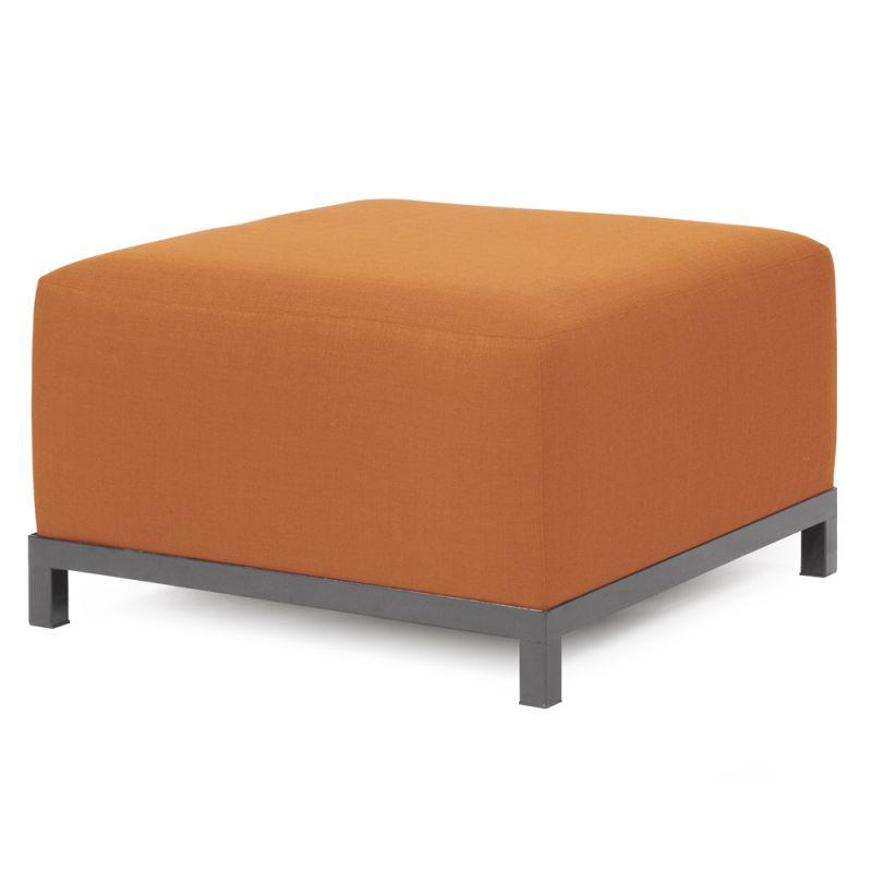 Howard Elliott Q902-297 Axis Seascape 30 X 17 Ottoman Slipcover Orange