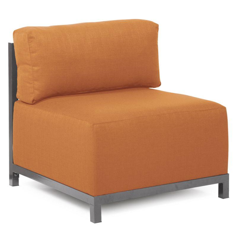 Howard Elliott Q920-297 Axis Seascape 30 X 17 Chair Slipcover Orange