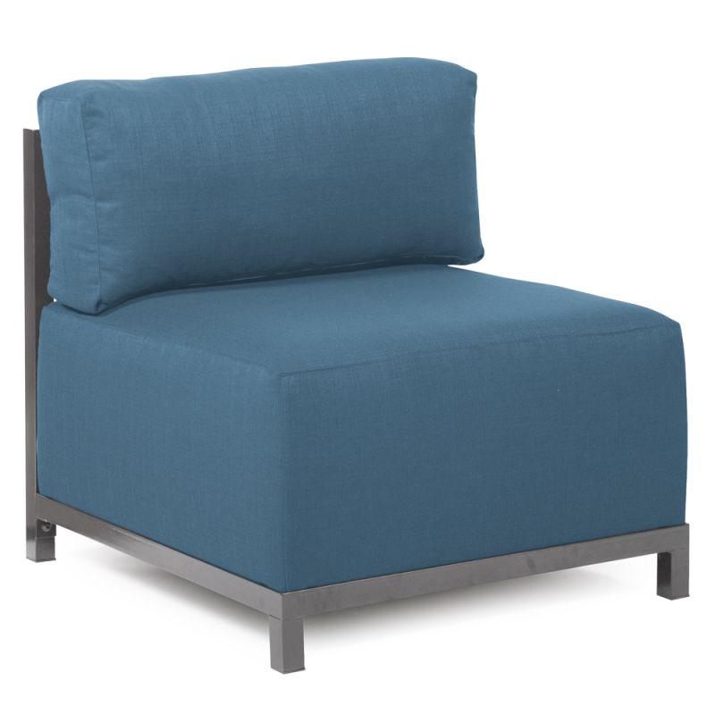 Howard Elliott Q920-298 Axis Seascape 30 X 17 Chair Slipcover
