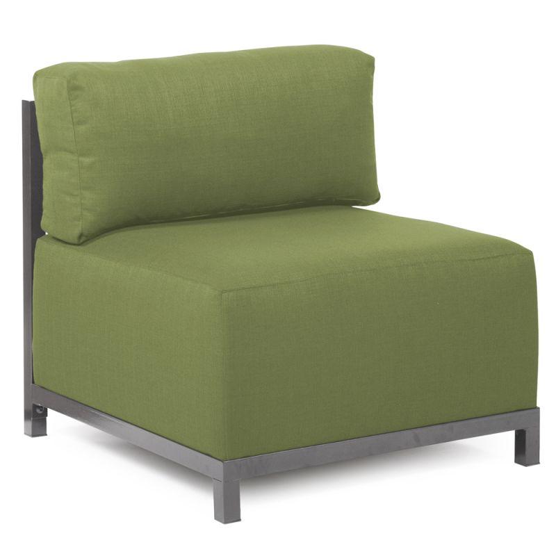 Howard Elliott Q920-299 Axis Seascape 30 X 17 Chair Slipcover Moss