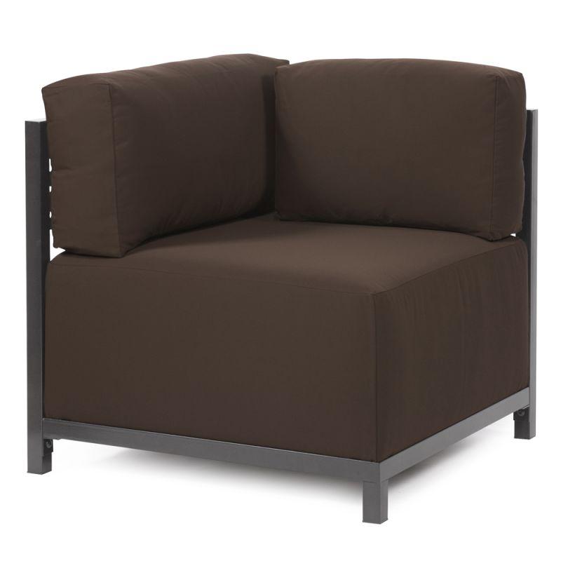 Howard Elliott Q921-462 Axis Seascape 30 X 17 Chair Slipcover Brown