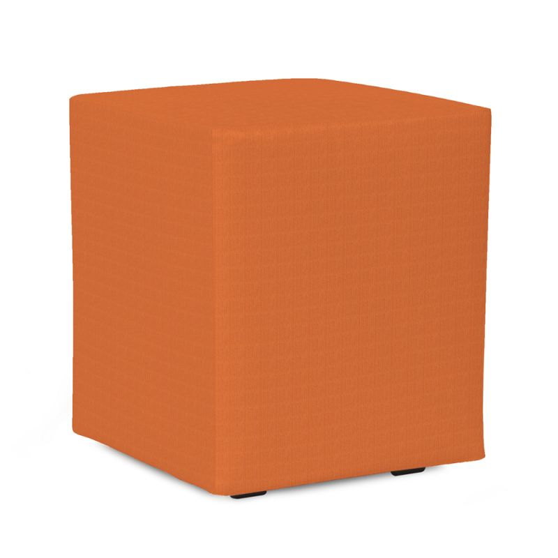 Howard Elliott QC128-297 Seascape 18 X 18 Universal Cube Cover Orange