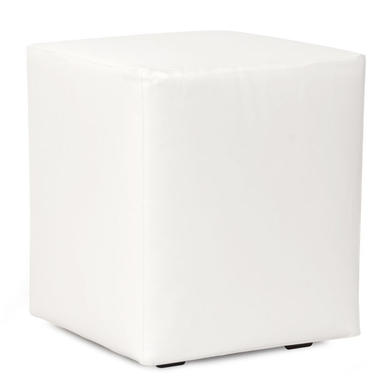 Howard Elliott QC128-944 Atlantis 18 X 18 Universal Cube Cover White