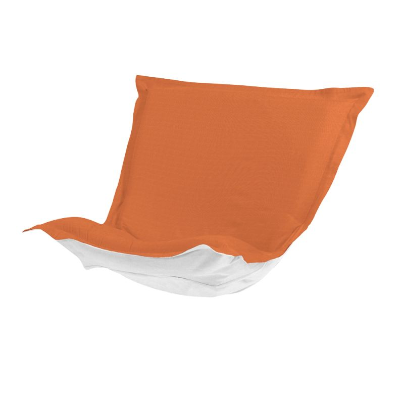 Howard Elliott QC300-297 Seascape 40 X 49 Puff Chair Slipcover Orange