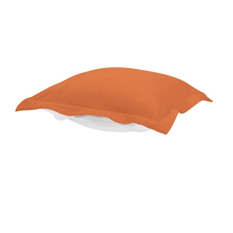 Howard Elliott QC310-297 Seascape 24 X 24 Puff Ottoman Cover Orange